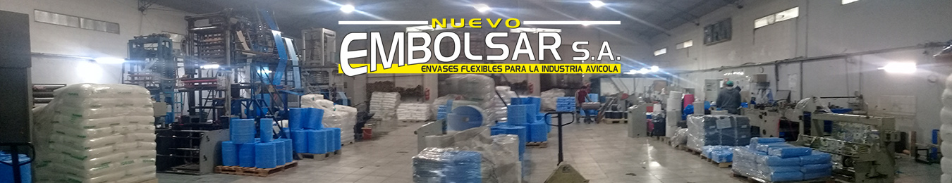 Fábrica de envases flexibles para la industria avícola